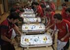 Latvijas galda hokejistiem medaļas pasaules čempionātā