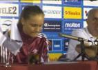 Video: Latvija - Spānija. Preses konference