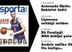 ''Sporta Avīzes'' novembra numurā: Porziņģis, Šķēle, Lipmans, Nitišs un citi