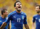 Itālija mača izskaņā izrauj uzvaru pret Zviedriju