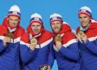 Medaļu kopvērtējums: Norvēģija pārņem vadību un atkārto savu medaļu rekordu