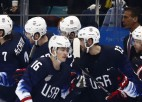 ASV izlase apspēlē Slovākiju un ceturtdaļfinālā tiksies ar Čehiju