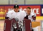 Video: Latvijas hokeja izlase pārspēj Vāciju, sperot soli pretī ceturtdaļfinālam