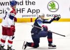 Čehi atspēlējas no 0:2, tomēr divi Keina vārti atnes ASV izlasei pusfinālu