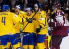 Video: Bļugers un Balcers iemet Zviedrijai, pusfināls tomēr paliek neaizsniegts