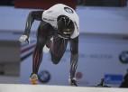 Martins Dukurs ātrākais Eiropas čempionāta 1. braucienā, Tomass dala 2. vietu