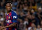 """""""Barcelona"""" jaunais talants Fati nevarēs spēlēt četrus mēnešus"""