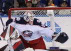 """""""Blue Jackets"""" rotē ar vārtsargiem un nosūta Kivlenieku uz AHL"""