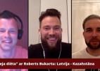 """Video: """"Hokeja diēta"""" ar Robertu Bukartu - Latvija ar 6:3 apspēlē Kazahstānu"""