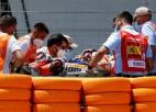 Markess avārijā lauzis roku, arī Kračlovam nepieciešama operācija