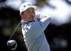 """Ķīnietis Lī pārsteidzošā """"PGA Championship"""" vadībā pēc 36 bedrītēm"""