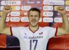 Latvijas volejbola izlases uzbrukuma līderis Ozoliņš nākamsezon spēlēs Francijā