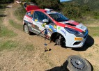 Seskam neveiksme Sardīnijas WRC rallija pirmajā dienā