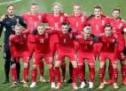 Lietuva kompensācijas laikā izrauj uzvaru Kazahstānā, Igaunijai neizšķirts Gruzijā