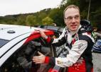 """""""Toyota"""" komandu vadīs visu laiku pieredzējušākais WRC pilots"""
