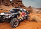 """Lietuvietis Vanags tuvu iekļūšanai Dakaras rallija """"Top 10"""""""