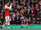 """Ezils vienojas ar """"Arsenal"""" par līguma laušanu"""