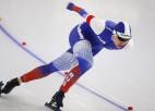 EČ ātrslidošanā sprinta distancēs soli pretī zeltam sper Goļikova un Krols