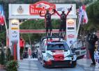 Ožjē izcīna 50. uzvaru WRC karjerā