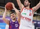 Lomažs debitē ar diviem punktiem uzvarā pār ''Brose Bamberg''