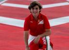 """Fitipaldi aiziet no """"Ferrari"""" akadēmijas, lai ceļu uz F1 bruģētu Amerikā"""
