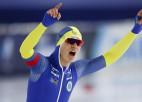 Van der Pēls uzstāda pasaules rekordu 10000 metros, 1500 metros zelts Viklundai