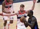 Bertāns ar ''Wizards'' pēc vēl vienas uzvaras, Kuruca ''Rockets'' pārtraukt neveiksmju sēriju