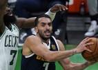 """""""Nuggets"""" spēlētājs Kampaco: """"Grūtākais NBA bija pierast pie <i>trash-talk</i>"""""""