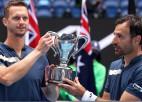 """Dodigs un Polāšeks """"Australian Open"""" finālā uzvar pagājušā gada čempionus"""