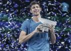 Popirins uzvar finālu neveiksminieku Bubļiku un iegūst pirmo ATP titulu