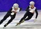Latvieši šorttreka sezona sāks ar Eiropas čempionātu