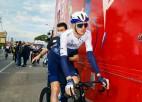 Neilands izceļas ar aktīvu sniegumu, finišējot 36. vietā ''Amstel Gold Race''