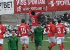 """Video: """"Spartakam"""" pirmo uzvaru garantē Fraideja vārtu guvums"""