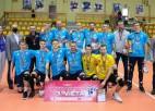 Daugavpils volejbolisti uzvar atkārtoti un izcīna LČ bronzas godalgas