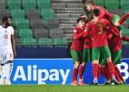 U21 Eiropas čempionāts: Francijai pirmā uzvara, Portugāle izslēdz Angliju