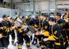 Runā OHL čempioni: Cipruss, Bajaruns, Lazdiņš