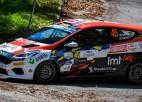Pēc Horvātijas WRC rallija pirmās dienas Sesks JWRC klasē ceturtais