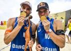 Pārgurušie norvēģi ar Molu priekšgalā vēlreiz triumfē Kankunas smiltīs