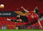 """""""Manchester United"""" cer līdz sezonas beigām pārliecināt Kavani par palikšanu"""