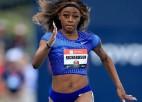 Bendžamins un Litla kļūst par sezonas līderiem 400m/b; Ričardsone atkal lieliska 100m