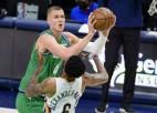 """Porziņģis atgriežas un 22 minūtēs gūst 19 punktus, palīdzot """"Mavs"""" uzvarēt """"Pelicans"""""""