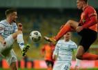 Cigaņika ''Zorya'' Ukrainas kausa fināla papildlaikā zaudē Kijevas ''Dynamo''