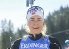 Norvēģietes Tandrevoldas pirmā uzvara mocībās ar vēdera sāpēm