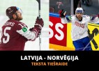 Latvija - Norvēģija 3:4 (spēle galā)