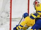 Zviedrija iemet savos, atspēlējas un smagā cīņā turpina cerēt uz ceturtdaļfinālu