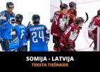 Latvija - Somija 2:3 (spēle galā)