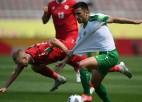 Dienvidkoreja iesit piecus vārtus, Turkmenistāna pārsteidz Libānu