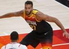 Gobērs trešo reizi karjerā atzīts par NBA labāko aizsardzības spēlētāju