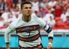 Portugāle izmoka uzvaru pret Ungāriju, Ronaldu iesit divus un apsteidz Platinī
