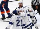 """Pointam uzvaras vārti pret """"Islanders"""", čempione """"Lightning"""" pārņem vadību sērijā"""